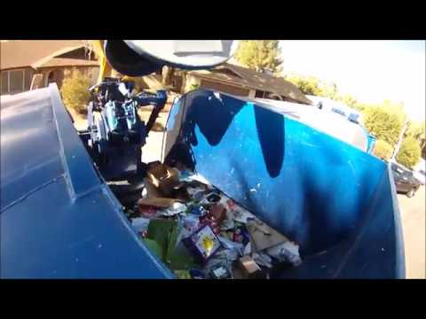 Post Christmas Recycling - Amrep Hopper Video