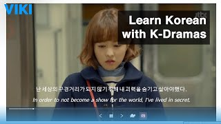 How to use Viki Learn to learn Korean with K-dramas