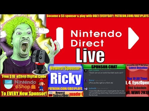 Nintendo Direct Mini Live Reaction! January 2018