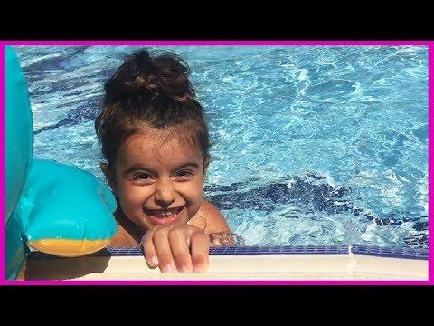Marmariste Otele Geldik, Havuza Girdik Burası Bir Harika Heryer Çocuk!