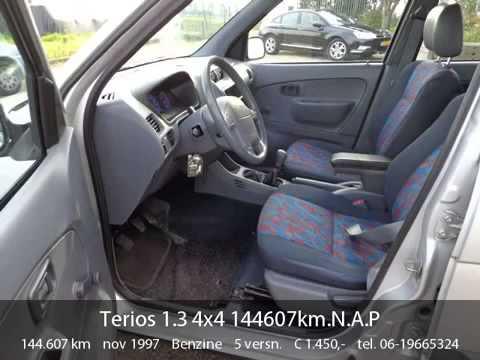 video daihatsu terios daihatsu terios 1 3 4x4 144607km n a
