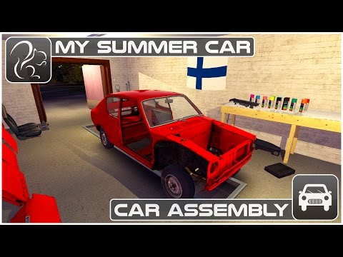 My Summer Car - Episode 3 - Car Assembly