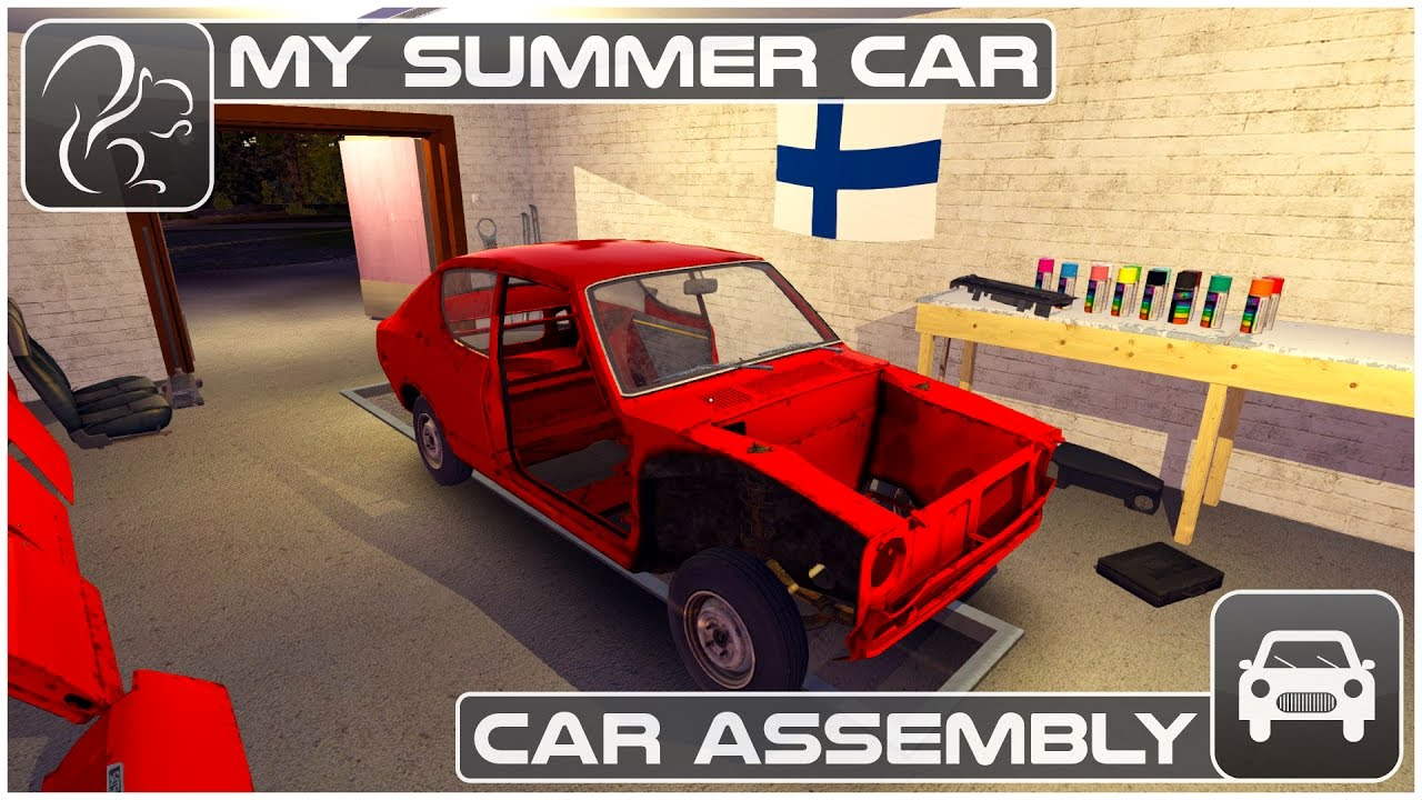 My Summer Car Episode 3 Car Assembly