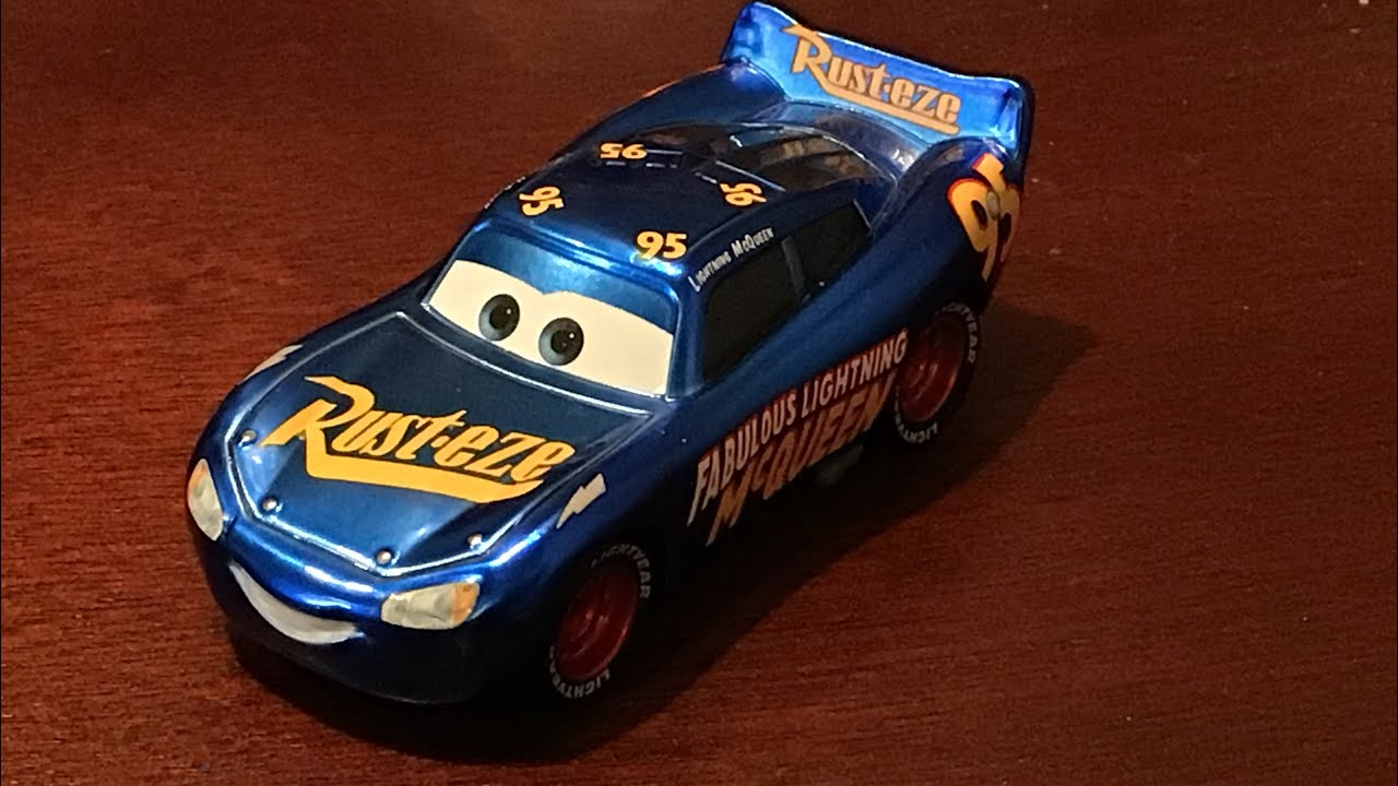 Cars 3 Metallic Fabulous Lightning Mcqueen Review Youtube