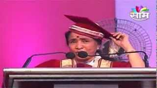 Asha Bhosale honoured with Doctor of Letters (D.Litt) degree