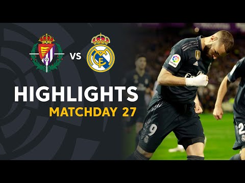 Highlights Real Valladolid vs Real Madrid (1-4)