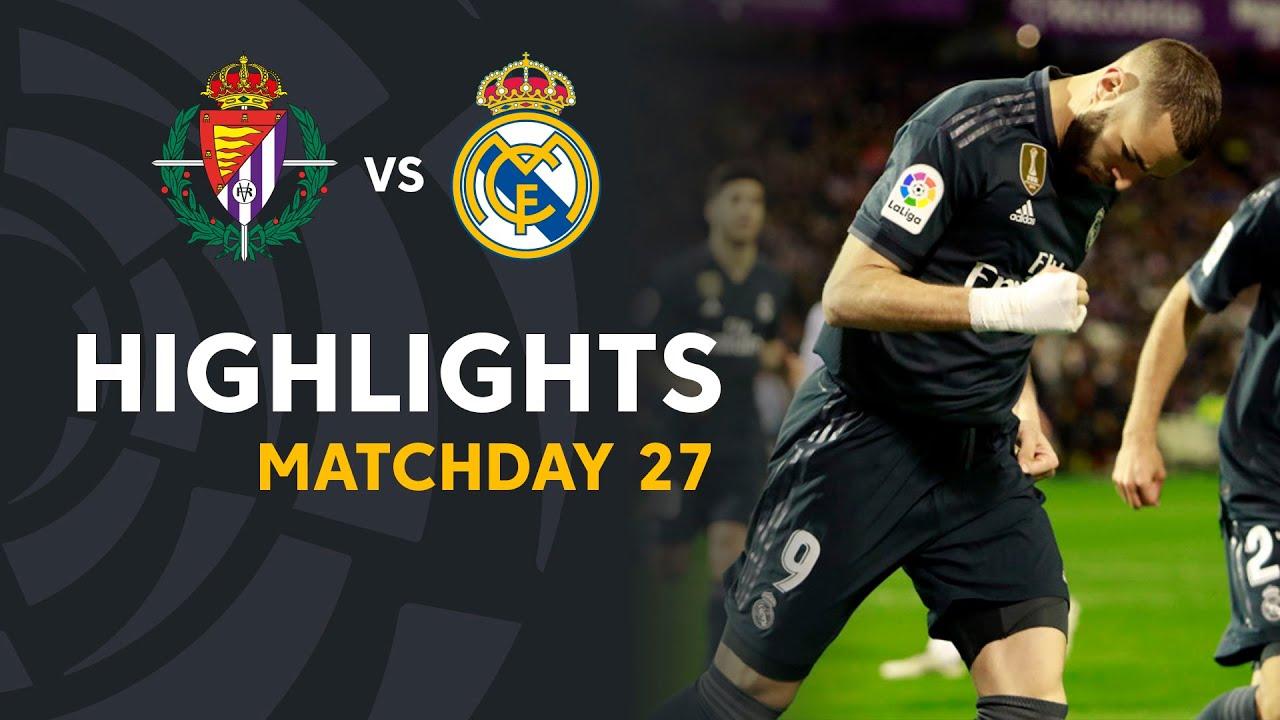 Highlights Real Valladolid Vs Real Madrid 1 4 Youtube
