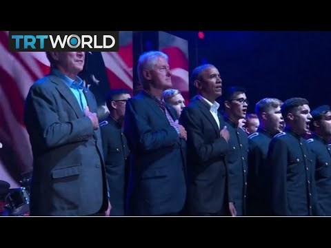 US Hurricane Relief: Five former presidents appear at concert