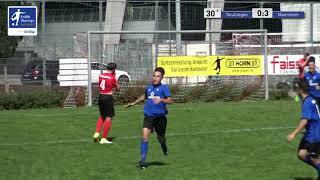 A-Junioren - 0:3 Marko Cabraja  - SSV Reutlingen 1905 Fußball vs SV Waldhof Mannheim