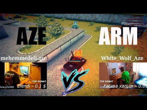 PORTES_S VS Hackers  - Tanki Online Arm VS Aze