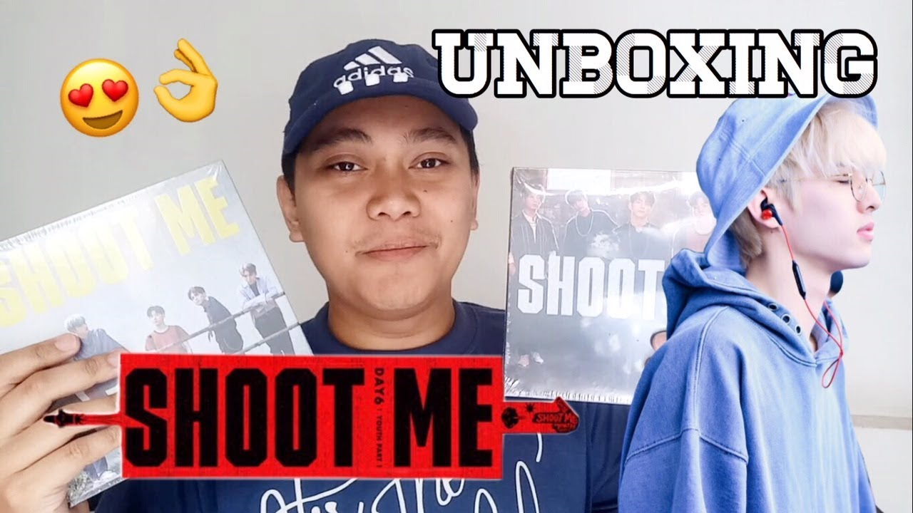 Download DAY6 MINI ALBUM Vol 3 SHOOT ME : YOUTH PART 1 UNBOXING