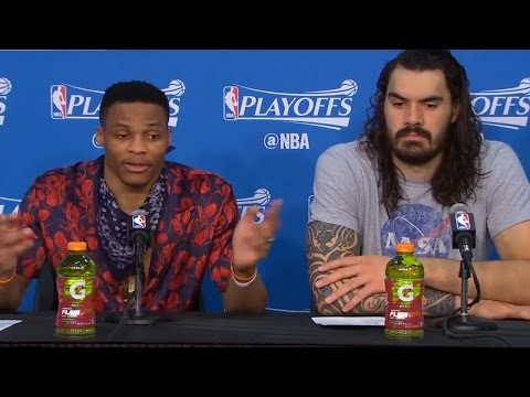 """Russell Westbrook BLASTS Reporter: """"Don't Try to Make Us Go Against Each Other"""""""