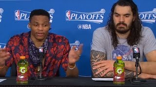 Russell Westbrook BLASTS Reporter: