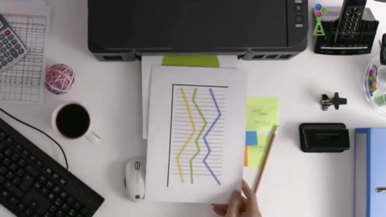МФУ HP Color LaserJet Pro M277dw - YouTube