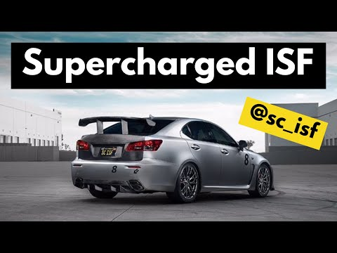 725HP Supercharged Lexus ISF Ride Along! @SC_ISF
