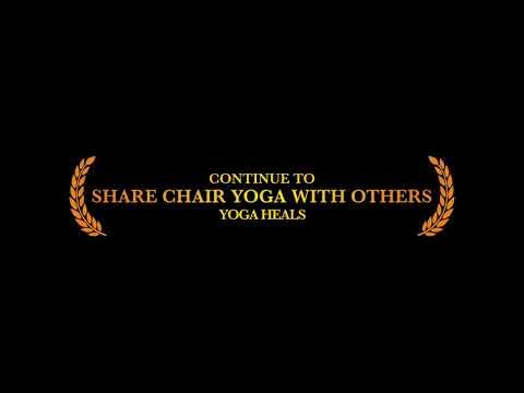 SunLight Chair Yoga: yoga is for everyone! teacher training 45 class video for Chair Yoga teachers