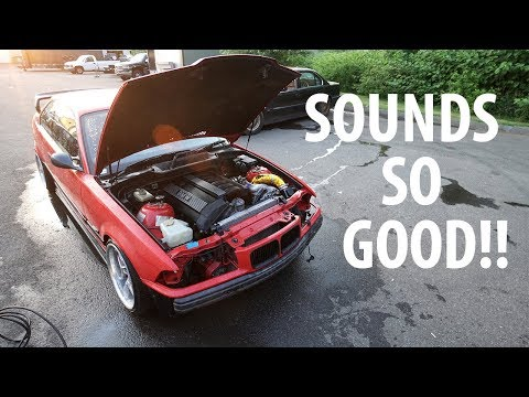 SUPERCHARGED BMW FIRST TEST!