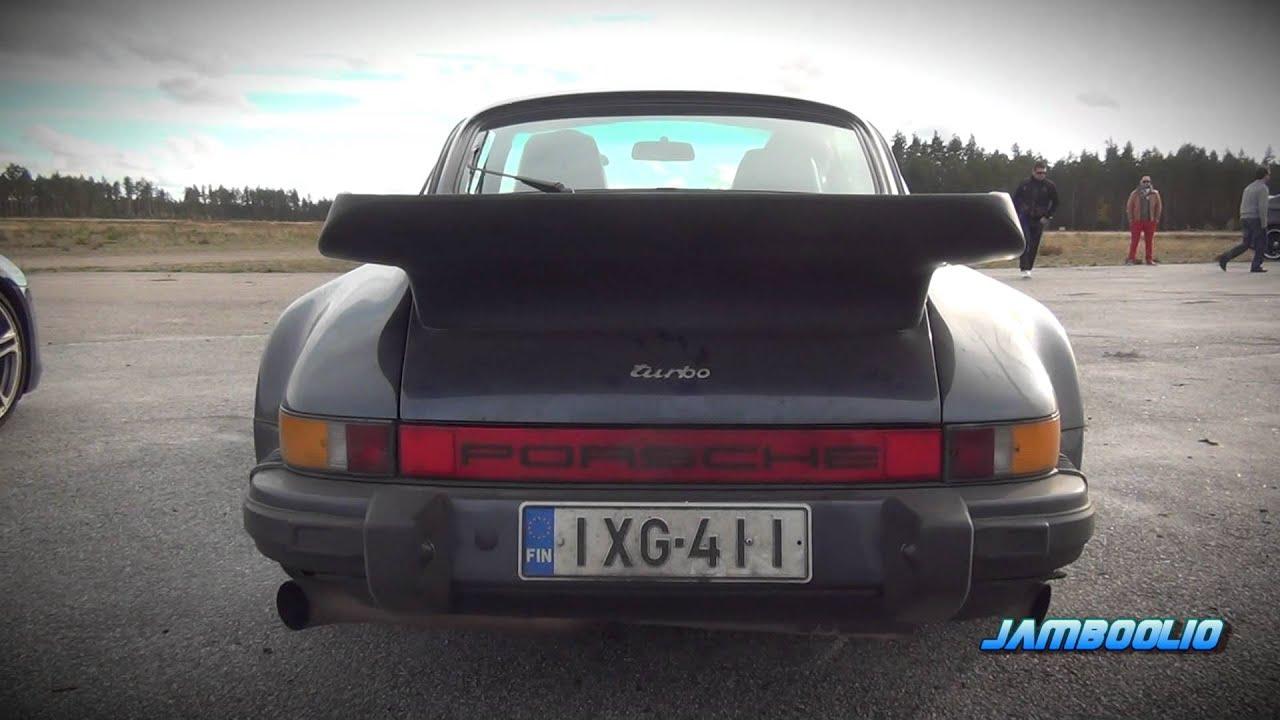 Hard Revs Porsche 911 Turbo 930 W Custom Exhaust Drag