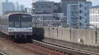 横浜市営地下鉄ブルーライン 3000R形3426F 新羽駅到着