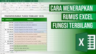 Cara Membuat Rumus Excel Fungsi Terbilang