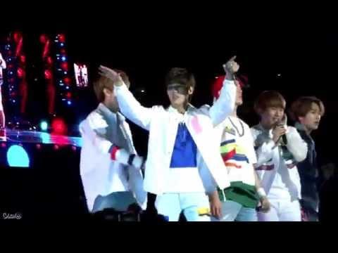 150523 Dream Concert BTOB - WOW (Minhyuk focus)