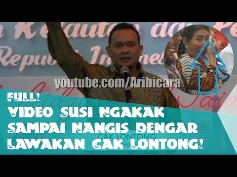 FULL! Video Lawakan Cak Lontong yang Bikin Menteri Susi Ngakak Sampai Nangis!!
