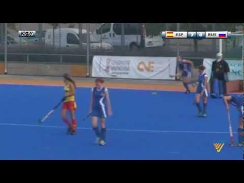 Spain Vs Russia - Eurohockey youth U-16 Valencia