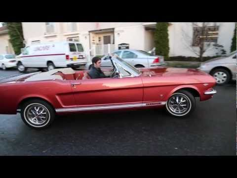 """1966 Ford Mustang Convertible 289 V-8  """" SOLD """"   Drager's International Classic Sales  206-533-9600"""