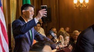House Speaker Paul Ryan hosted President Donald Trump, Taoiseach (P...
