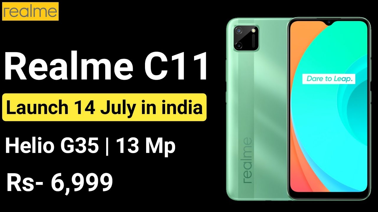 Realme C11 launching on 14 July in india, full details about it 🔥🔥