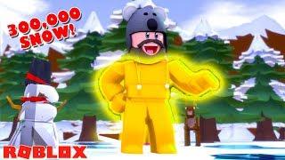 ALLE PENGUINS + THERMAL SUIT! | ROBLOX SNOW SHOVELING SIMULATOR