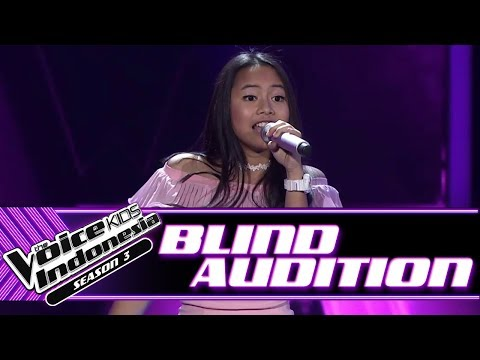 Florence - Jangan Gila | Blind Auditions | The Voice Kids Indonesia Season 3 GTV 2018
