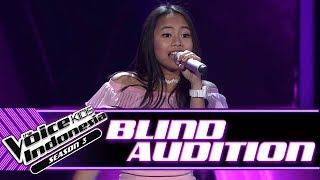 Video Florence - Jangan Gila   Blind Auditions   The Voice Kids Indonesia Season 3 GTV 2018 download MP3, 3GP, MP4, WEBM, AVI, FLV Oktober 2018