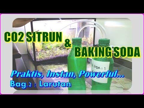 CO2 Sitrun & Baking Soda  - Bagian 2 Membuat Larutan, Ternyata Tidak Sulit...