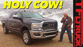 This Is Why the $84,000 2019 Ram 2500 Defines Luxury For Heavy Duty Trucks