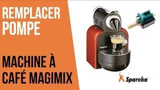 Comment remplacer la pompe de votre cafetière Magimix ?