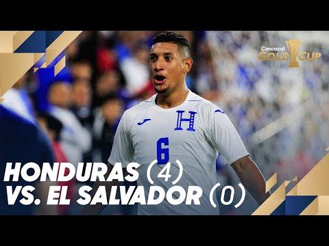 Honduras (4) vs. El Salvador (0) - Gold Cup 2019
