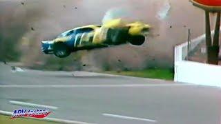 Ricky Rudd Big Crash 1984 Busch Clash