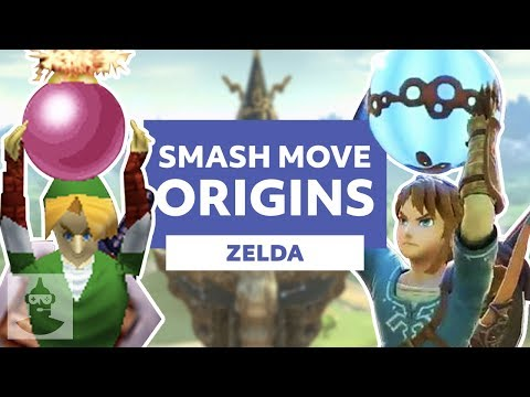 Zelda Super Smash Bros Moves Explained (Link, Zelda, Ganondorf, And More) | The Leaderboard thumbnail