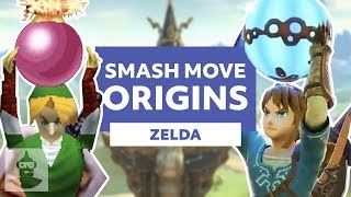 Zelda Super Smash Bros Moves Explained (Link, Zelda, Ganondorf, And More) | The Leaderboard
