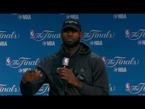 LeBron James FULL Interview Before Game 5 | Media Day Availability