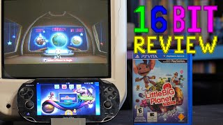 Can you Build Space Invaders in LittleBigPlanet Vita? - 16 Bit Game Review