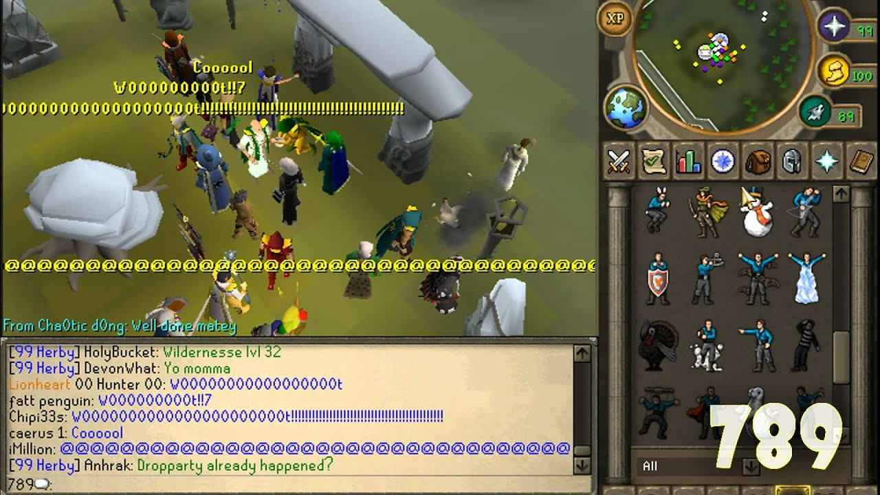99 Herblore 7M DropParty