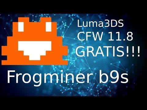 CFW Luma3DS 11.8 GRATIS!!