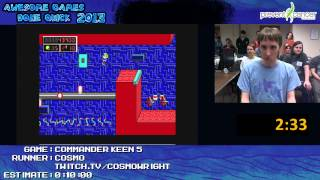 Commander Keen 5 - Speed Run by Cosmo (04:31) at Awesome Games Done Quick 2013 [PC]