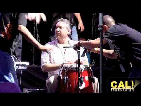 ROBERTO ROENA Y PIRO MANTILLA - EL ESCAPULARIO EN EL DIA NACIONAL  DE LA SALSA 2012
