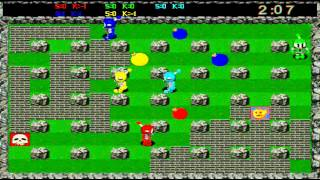 Atomic Bomberman (PC) Gameplay: Level - Green Acres