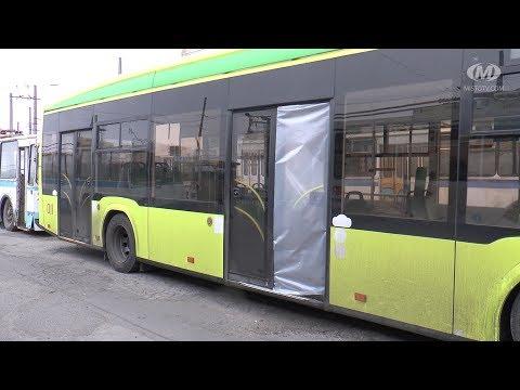 МТРК МІСТО: Тролейбус без вікна