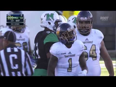 Marshall Highlights vs Florida International Football 2015