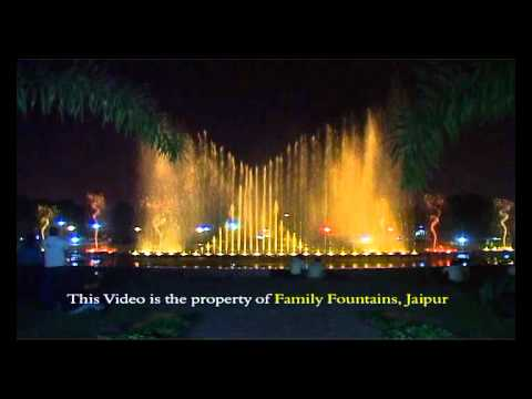 Musical fountain Jaipur India.wmv
